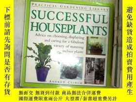 二手書博民逛書店SUCCESSFUL罕見HOUSEPLANTS成功的室內植物Y2