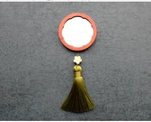 實木小鏡子 便攜鏡隨身化妝鏡迷你鏡復古迷你鏡【免運】