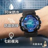 一件8折免運 兒童手錶男孩電子錶防水女可愛led男童小學生電子錶機械智慧運動