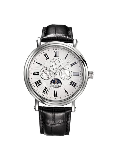 ★Aries Gold★-雅力士手錶-KENSINGTON-G 101 S-W-錶現精品公司-原廠公司貨