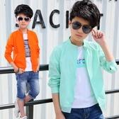 童裝5男童夏裝新款7防曬服薄款外套11兒童防曬衣男孩夏季13歲 9號潮人館