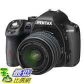 [103 美國直購 ShopUSA] 相機Pentax K-500 16MP Digital SLR Camera Kit with DAL 18-55mm f3.5-5.6and50-200mm Lenses(Black)$23874