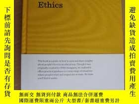二手書博民逛書店The罕見Design Research Ethics (a g