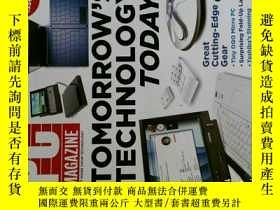 二手書博民逛書店PC罕見Magazine 2007年3月20日 英文個人電腦雜誌 可用樣板間道具雜誌Y114412