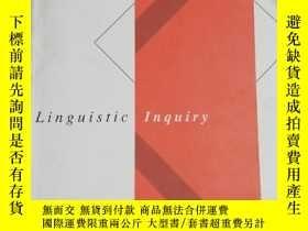 二手書博民逛書店Linguistic罕見Inquiry Volume 48 Nu