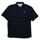 KANGOL 短袖 短T 深藍 紅 刺繡 小LOGO 袋鼠 棉 POLO衫 男 (布魯克林) 6021130180