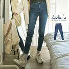 LULUS-C刷色合身牛仔長褲S-L-藍  現+預【04011338】