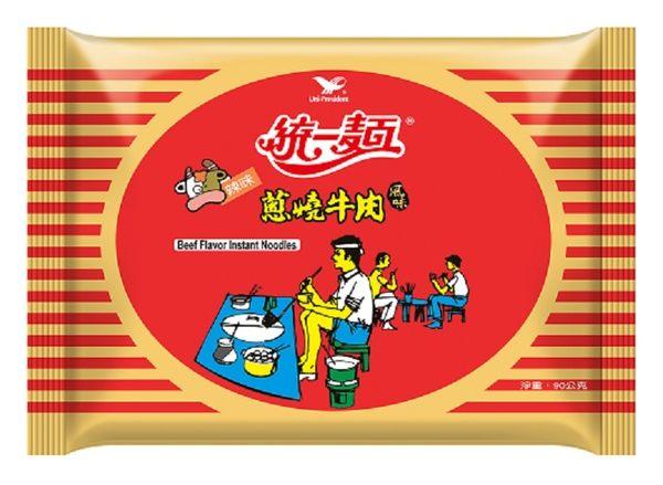 【統一】蔥燒牛肉麵,30包/箱,不添加防腐劑,平均單價18元