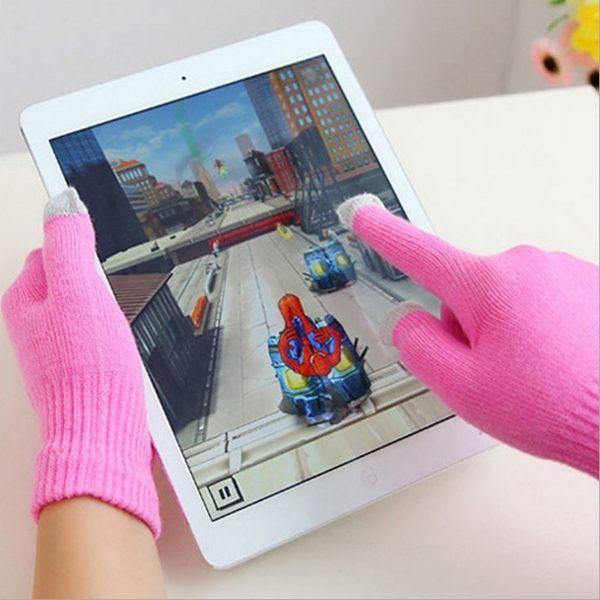 [拉拉百貨] 觸屏手套 螢幕觸控手套 3指皆可觸控手機 平板 保暖手套