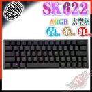 [ PCPARTY ] CoolerMaster SK622 藍芽無線 雙模 矮軸 英文 太空灰 60% 機械式鍵盤
