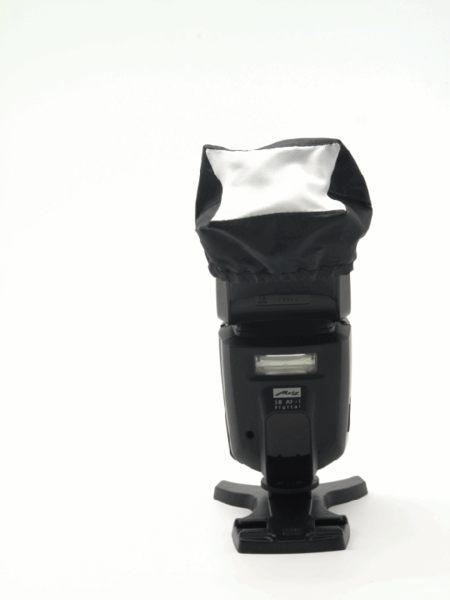 又敗家@通用型黑邊絲光內閃外閃燈柔光罩機頂閃光燈柔光罩適600EX-RT 580EX II 580EX2 SB910 SB900