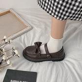 2020夏秋小皮鞋女學院jk黑色鞋英倫風百搭軟妹日系復古瑪麗珍單鞋 「雙10特惠」
