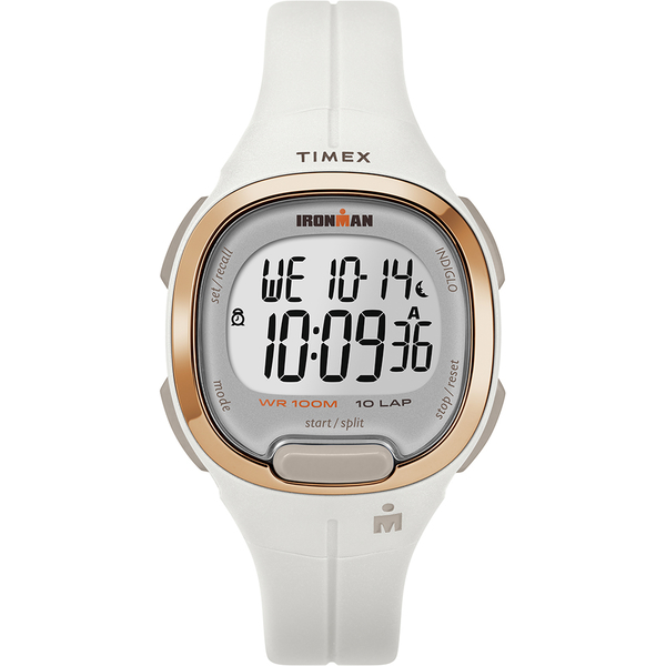 【TIMEX】 天美時 鐵人系列 專業運動電子錶 (白 TXTW5M19900)