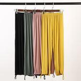 形體褲子女收口蘿卜褲現代舞蹈服裝爵士舞民族練功褲莫代爾彈力褲 造物空間
