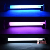 865紅龍金龍魚專用燈西龍T8潛水燈魚缸水族箱防水中照明燈T