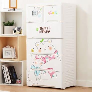 【+O 家窩】薇樂溫濕感測收納櫃(DIY)-親親小熊
