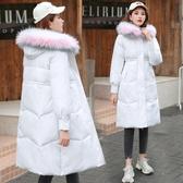新款羽絨棉服女中長款ins棉衣女韓版寬鬆棉襖冬季外套加厚潮 俏女孩
