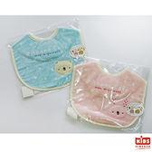 圍兜口水巾日本製吃飯用100%棉Anano cafe系列可愛熊 兔圖案