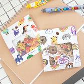 PGS7 富士 拍立得 底片 裝飾貼紙 - 歡樂 動物園 貼紙包 長頸鹿 狐狸 猩猩 ZOO 貼紙【SHZ7808】