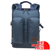【THE NORTH FACE 美國】MINI CREVASSE雙肩電腦背包17L『深藍』NF0A3G8L後背包.雙肩包