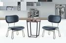 【南洋風傢俱】房間椅洽談椅系列-咖啡小茶几休閒桌椅組 CX693-1 CX608-3