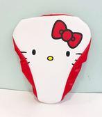 【震撼精品百貨】Hello Kitty 凱蒂貓~凱蒂貓 HELLO KITTY 腳踏車座套-紅白#01567