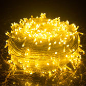 led彩燈閃燈串燈圣誕彩房間裝飾燈滿天星星彩燈戶外婚慶彩燈wy【快速出貨八折優惠】