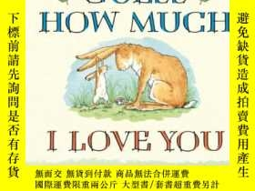 二手書博民逛書店Guess罕見How Much I Love You 猜猜我有多愛你 英文原版[Board book]Y449
