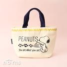 日貨Skater KNB1棉布手提袋 Snoopy系列- Norns 日本進口 便當袋 野餐袋