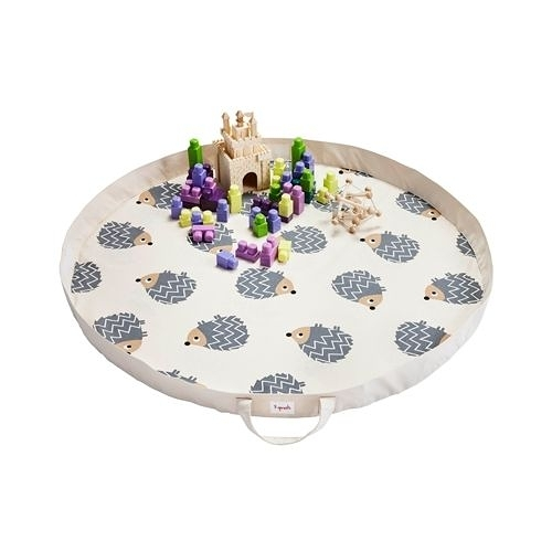 加拿大 3 Sprouts 玩具收納袋-刺蝟(玩具秒收神器)[衛立兒生活館]
