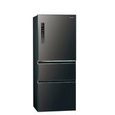 Panasonic國際牌500公升三門變頻鋼板冰箱絲紋黑NR-C501XV-V