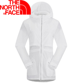 【The North Face 女 風衣外套 白  】 NF00CG2B/風衣外套/防風外套/薄外套★滿額送