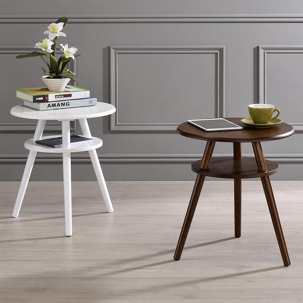 【品味玩傢】 二層茶几圓桌 寬46cm小茶几 邊桌 休閒桌