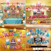 生日佈置氣球套餐寶寶一周歲兒童卡通主題場景派對趴體裝飾背景牆 童趣潮品