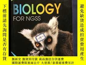 二手書博民逛書店biology罕見for ngss 生物學的門徑 biozone student workbookY16999