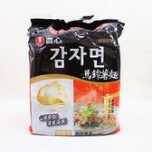 韓國泡麵農心-馬鈴薯麵100g*4包入【0216零食團購】031146029297