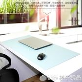 滑鼠墊定制商務皮革辦公桌墊電腦書桌墊寫字臺鼠標墊超大防水新款多色   橙子精品