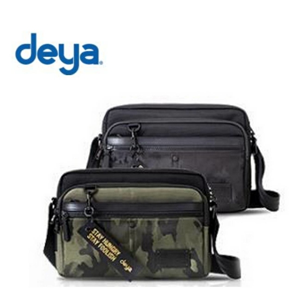 deya - 新品 urban RFID迷彩時尚逆抗菌側背包-2色