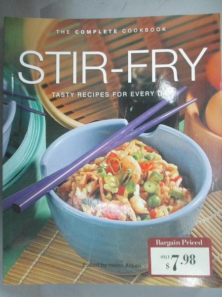【書寶二手書T1/餐飲_WEN】Stir Fry: Tasty Recipes for Every Day