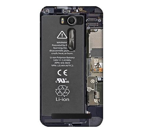 [ZE500KL 軟殼] asus 華碩 ZenFone 2 Laser 5吋 Z00ED 手機殼 外殼 電池圖案