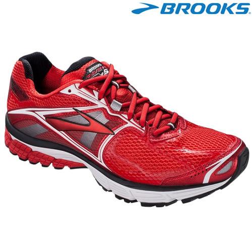 【BROOKS】美國進口Ravenna 5 男款輕量支撐慢跑鞋 - 紅