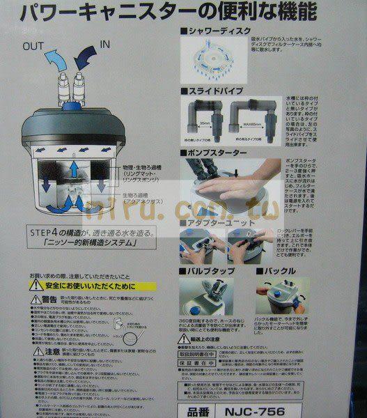 【西高地水族坊】日本NISSO POWER CANISTER超精緻圓桶過濾(10型)