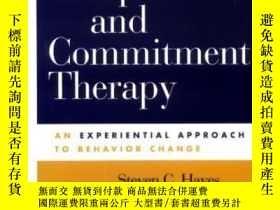 二手書博民逛書店Acceptance罕見And Commitment TherapyY364682 Steven C. Hay