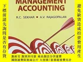 二手書博民逛書店Management罕見Accounting-管理會計Y436638 Late R.c. Sekhar;...