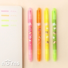 蠟筆小新雙頭果凍螢光筆- Norns 正版授權 Crayon Shinchan 文具
