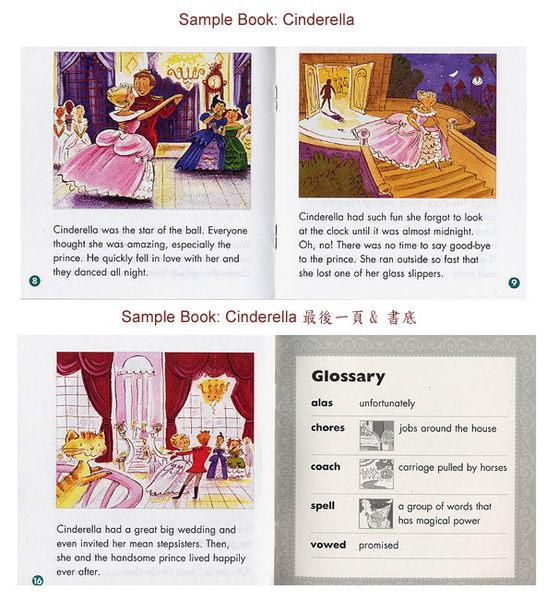 【麥克書店】FOLK & FAIRY TALE EASY READER /15書+1CD 《床邊童話故事選輯》