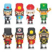 微型積木迷你玩具成人兼容樂高微鑽石小顆粒【3C玩家】