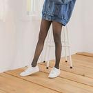 30D天鵝絨鋼絲面膜微壓收腹提臀美腿襪(深灰色)