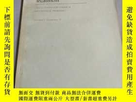 二手書博民逛書店Water罕見and Wastewater Treatment-