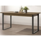 餐桌 SB-401-2 雅博德5 尺經典胡桃色餐桌 (不含椅子)【大眾家居舘】